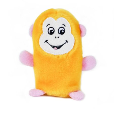 Monkey Squeakie Buddie Dog Toy Squeaky Puppy Chew Squeak Noise ZippyPaws (Puppy Monkey)