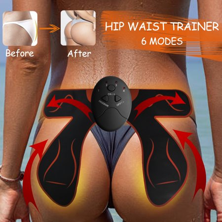 EMS Smart Hip Trainer Buttocks Butt Lift Up Muscle Training Bum Body Workout Home Fitness - Foam Buttocks