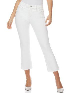 Sofia Jeans by Sofia Vergara Mayra High Waist Crop Flare Jeans, Women's
