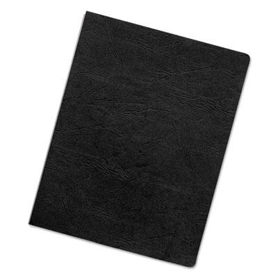 Fellowes Executive Leather Textured Vinyl Presentation Covers for Binding Systems by
