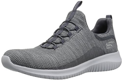 Skechers Sport Women's Ultra Flex Capsule Sneaker,Charcoal,6 M US