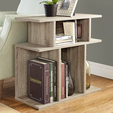 """Monarch Accent Table 24""""H / Dark Taupe"""