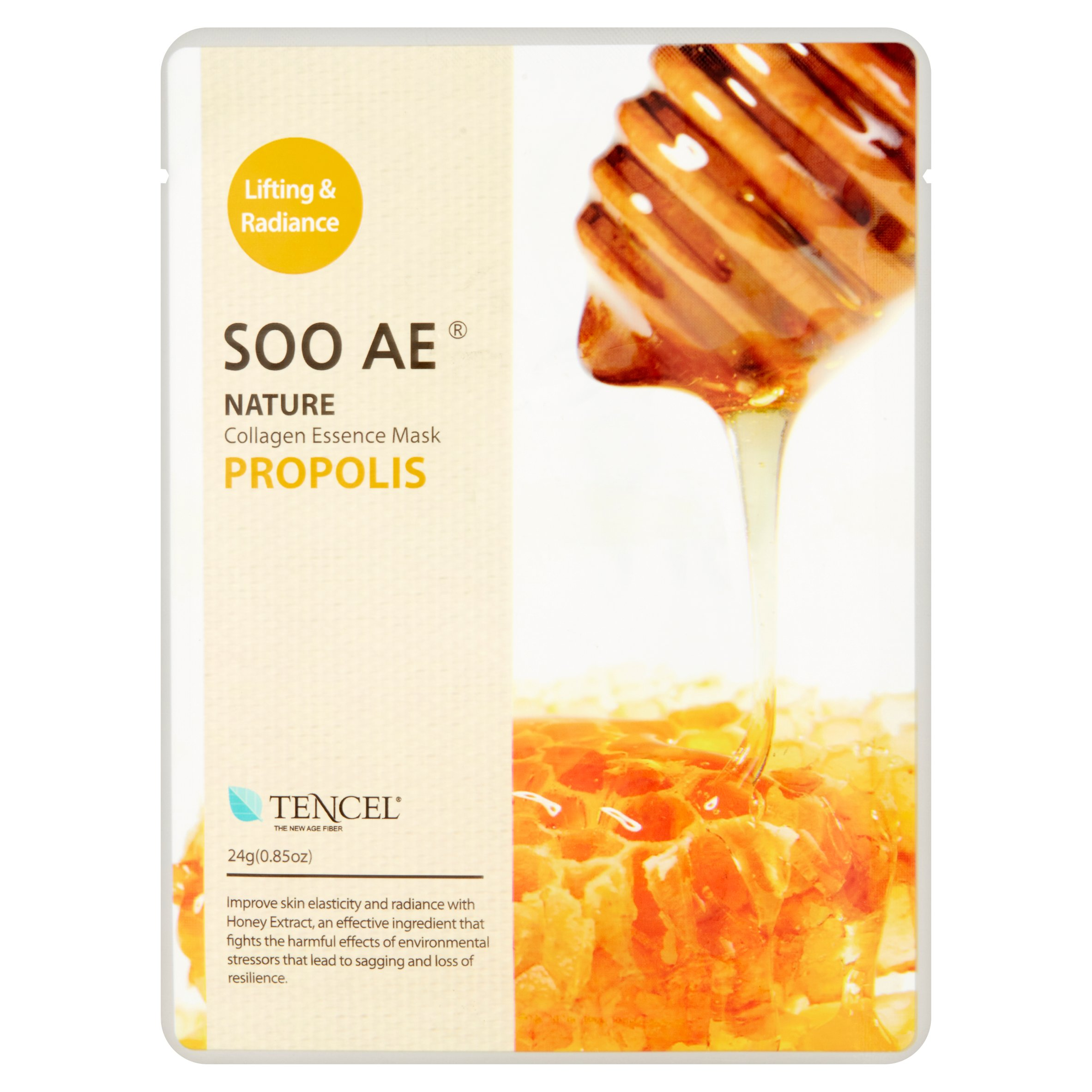 Soo Ae Nature Propolis Collagen Essence Mask, 0.85 oz