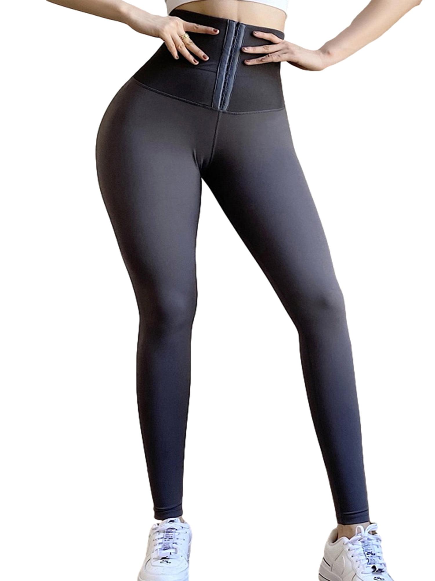 Womens Seamless Leggings Stretch Gym Butt Lift Sports Fitness Yoga Pants Shark
