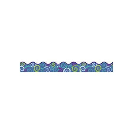 TREND enterprises, Inc. Cool Swirls Terrific Trimmer Classroom