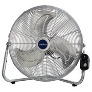 Lasko 20″ High Velocity Quick Mount, Easily Converts from a Floor Wall Fan, Silver 2265QM