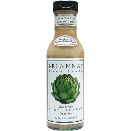 Brianna's real french vinaigrette dressing, 12 oz (pack of