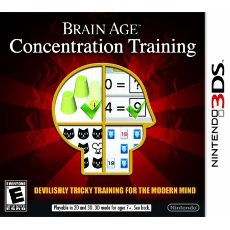 Brain Age: Concentration Training - Nintendo 3DS (Brain Age Nintendo 3ds)