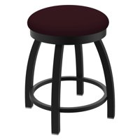 Holland Bar Stool Co Misha Backless Swivel Dining Stool with Faux Leather Seat
