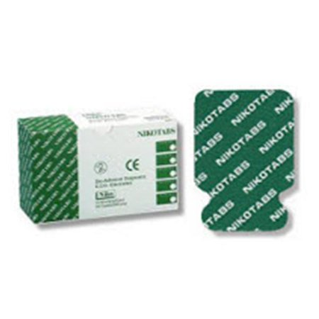 Pediatric Ecg Electrodes - WP000-PT NIK0515 NIK0515 Electrode EKG/ECG Nikotabs Ag/ AgCl Adult Std 23x34mm 100/Pk Nikomed, USA Inc