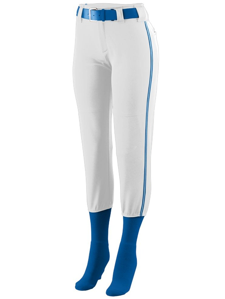 Augusta Sportswear 1249 Gls Low Rise Collegiate Baseball Uniform Pants Girls