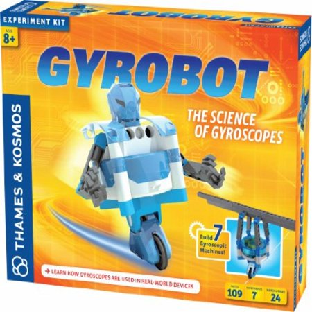 (Thames and Kosmos Gyrobot-Gyroscopic Robot Kit)