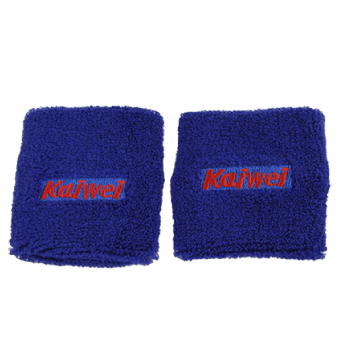 Wrist Blue Sweatband for Sports Baseball Basketball