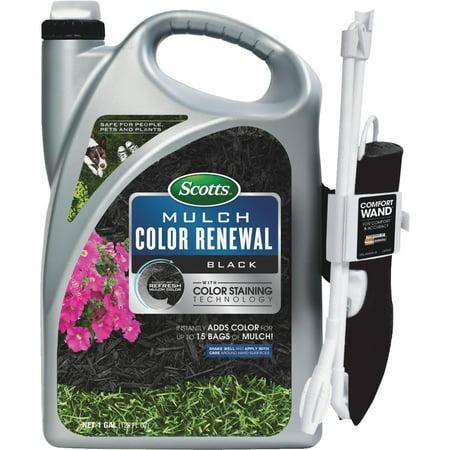 Mulch Color Renewal, Black, 1-Gal.