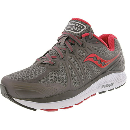 Saucony Women's Echelon 6 Grey / Pink Ankle-High Mesh Running - 7.5M