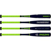 "New DeMarini Insane INR15 Senior League Baseball Bat 2 5/8"" Black (-9)"