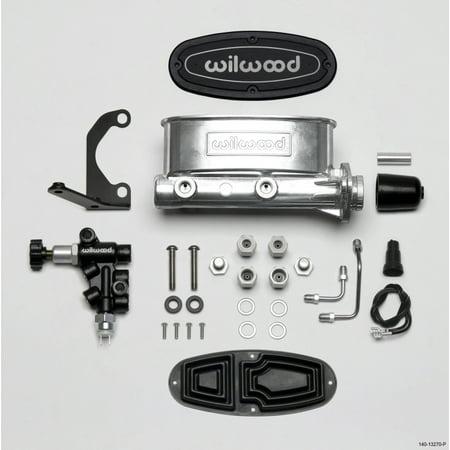 Bally Bracket (Wilwood HV Tandem M/C Kit w L/H Bracket & Prop Valve - 1 1/8in Bore Ball)