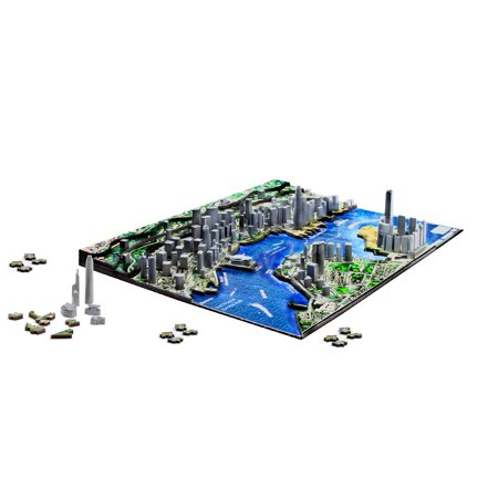 4D Cityscape Hong Kong Time Puzzle - image 3 of 3
