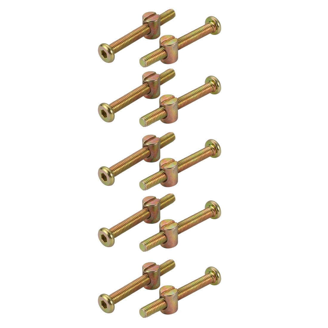 1//8 X 7//16 X 7//32 Oval Head SEMI-Tubular Steel Rivets ZINC Plated/_100 pcs Box