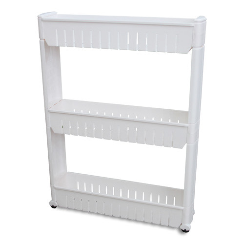 Attractive Vandue Corporation Narrow Sliding Storage Organizer Rack