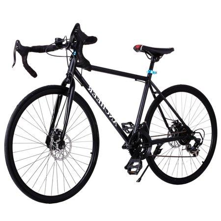 ANCHEER Bike Carbon Steel Frame 700c Men\'s Road Bike 21 Speed ...