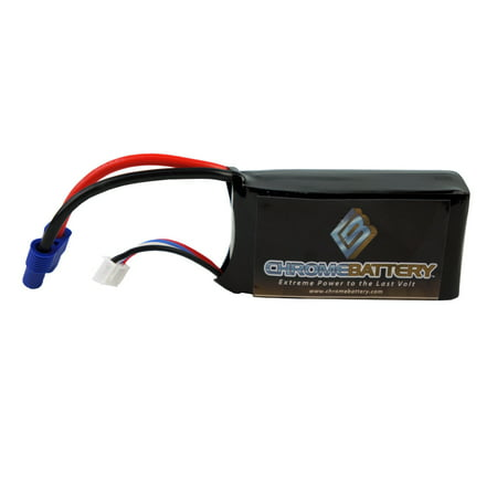 Chrome Battery 11.1V 1350mAh Lipo Battery for Parrot AR Drone 2.0 and 1.0