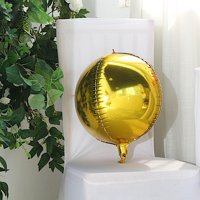 BalsaCircle 2 pcs 12-Inch wide 4D Oval Mylar Foil Balloons Wedding Birthday Reception Party Wholesale Cheap Decorations Supplies