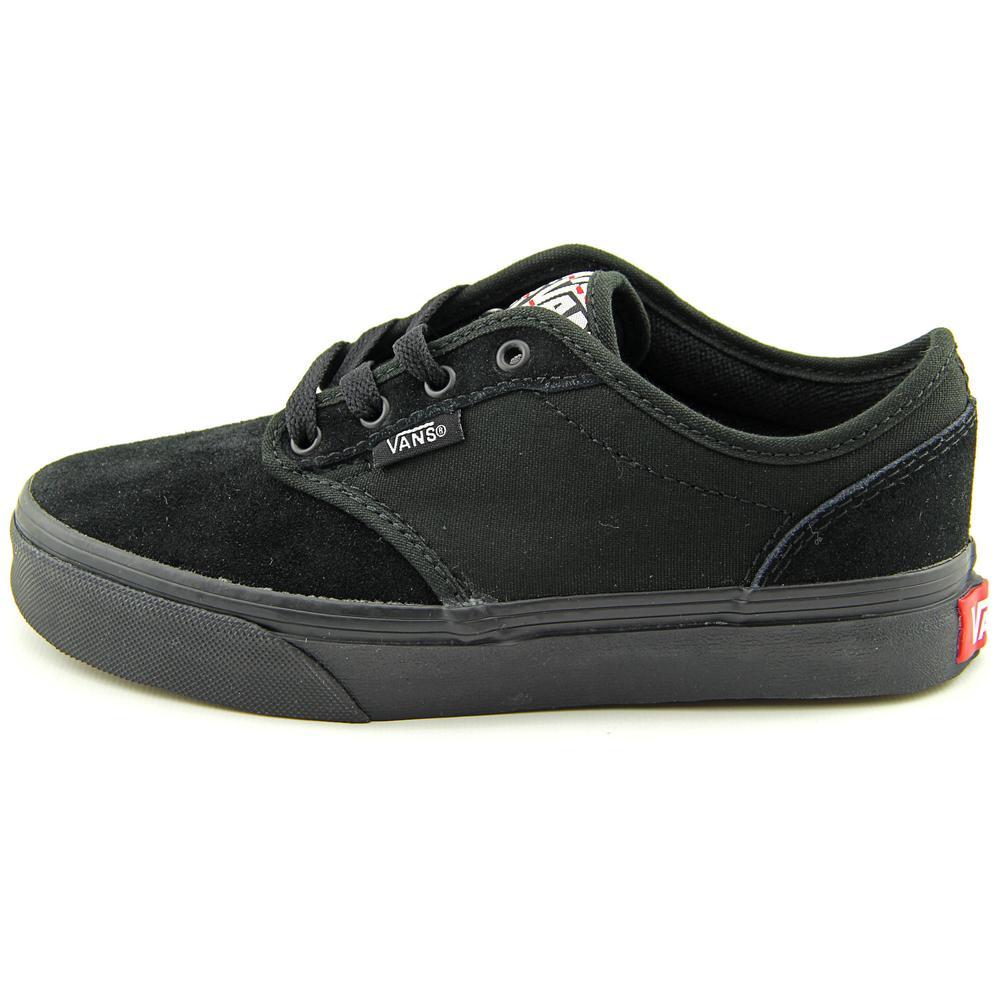 3273c8eedbeb64 Vans - Vans Atwood Deluxe Round Toe Suede Skate Shoe - Walmart.com