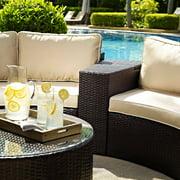 Crosley Catalina Outdoor Wicker Arm Table