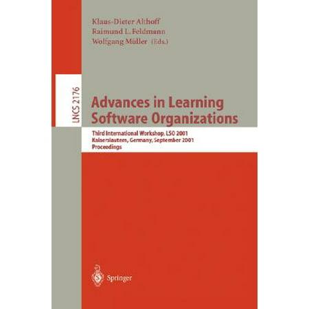 Advances in Learning Software Organizations : Third International Workshop, Lso 2001, Kaiserslautern, Germany, September 12-13, 2001.