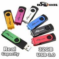 32G USB 3.0 Super Fast Flash Memory Drive Storage key pendant Thumb Pen Stick