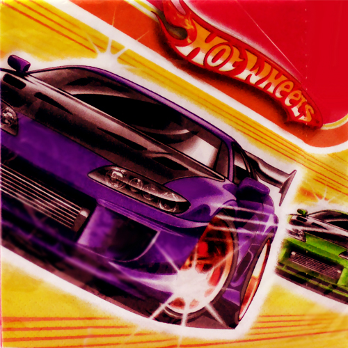 Hot Wheels 'Fast Action' Lunch Napkins (16ct)