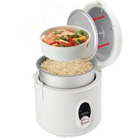 Aroma 8-Cup Rice Cooker and Food Steamer ARC-614BP