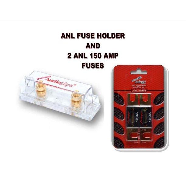 150 amp fuse box audiopipe heavy duty anl fuse holder block cq 1100 and 2 anl150  audiopipe heavy duty anl fuse holder