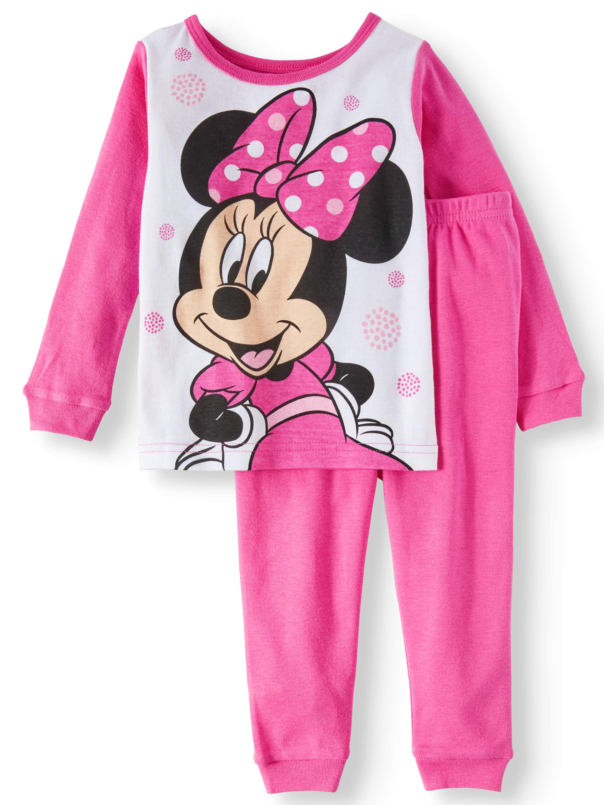 Minnie Mouse Pajamas, 2pc Set (Baby Girls & Toddler Girls)