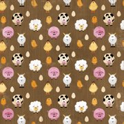 Farm Paper 12 Inch X 12 Inch-Farm Animals