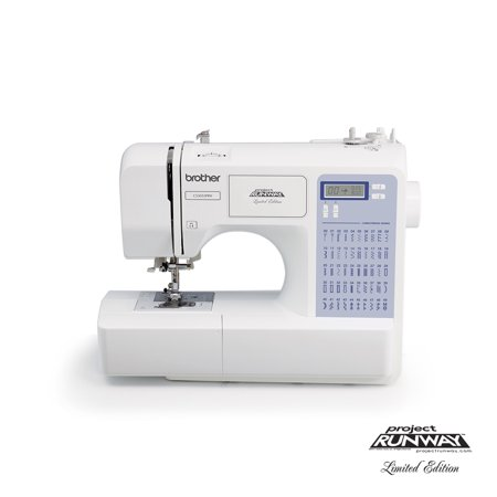 Brother 50 Stitch Project Runway Computerized Sewing Machine  Cs5055prw