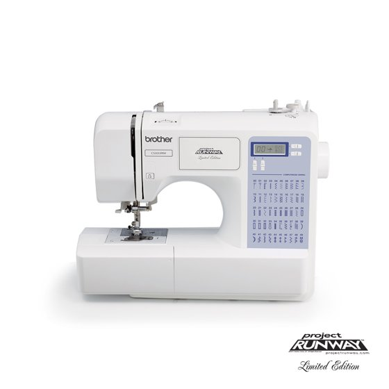 Brother 40Stitch Project Runway Computerized Sewing Machine Amazing Brother Cs5055 Project Runway Computerized Sewing Machine