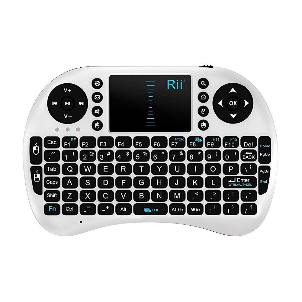 Rii 2.4G Mini i8 Wireless Keyboard with Touchpad for PC Pad Google Andriod TV Box Xbox360 PS3 HTPC/IPTV