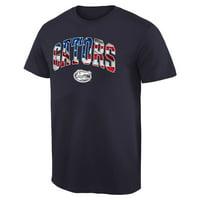 Florida Gators Banner Arch T-Shirt - Navy
