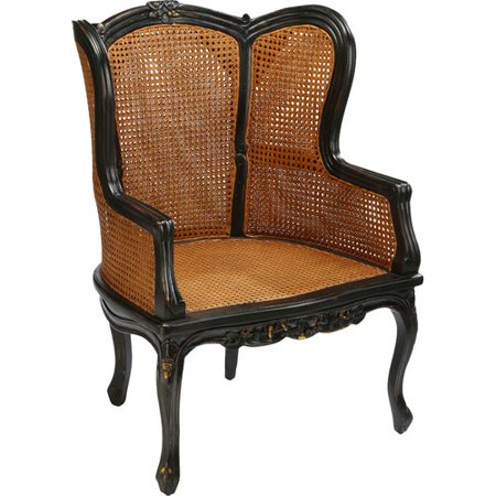 AA Importing Double Caned Armchair