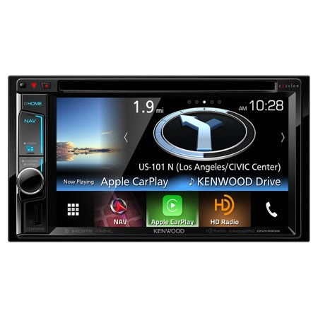 Remanufactured Kenwood Dnx693s  6 2 Excelon Double Din Av Navigation System With Bluetooth