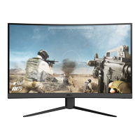 "MSI 27"" Curved 1920x1080 HDMI DP 165Hz 1ms FreeSync LCD Gaming Monitor - Optix G27C4"