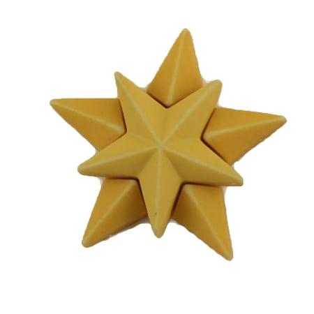 Holiday Star Button (BUTTONS GALORE STAR BULK 3D - 25 BUTTONS )