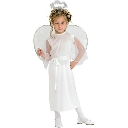 Girls Heavenly Angel Fairy Costume - Christmas Costume For Girls
