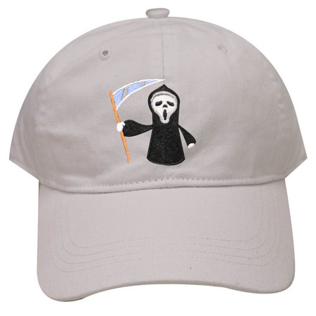 City Hunter C104 Halloween Scary Movie Cotton Baseball Caps - White](City Pages Halloween Events)