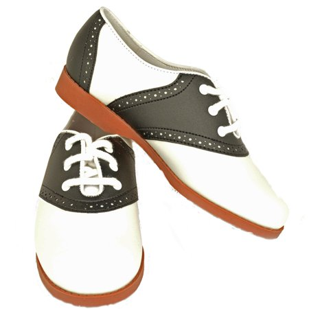 Girls - 50's Saddle Shoes – Child - 2.5](Saddle Shoes)
