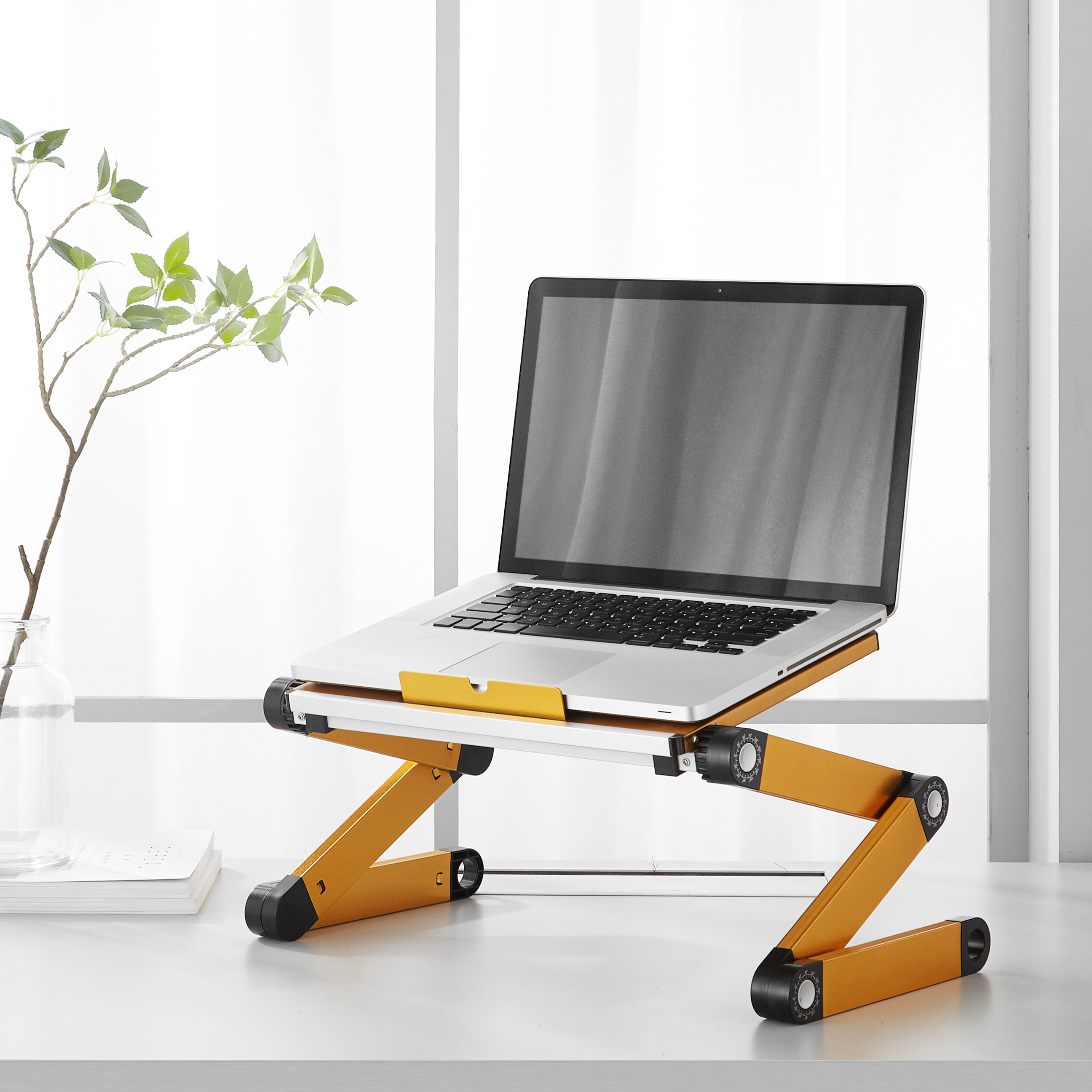 Mainstays Folding Sit and Stand Vented Lapdesk, Multiple Colors