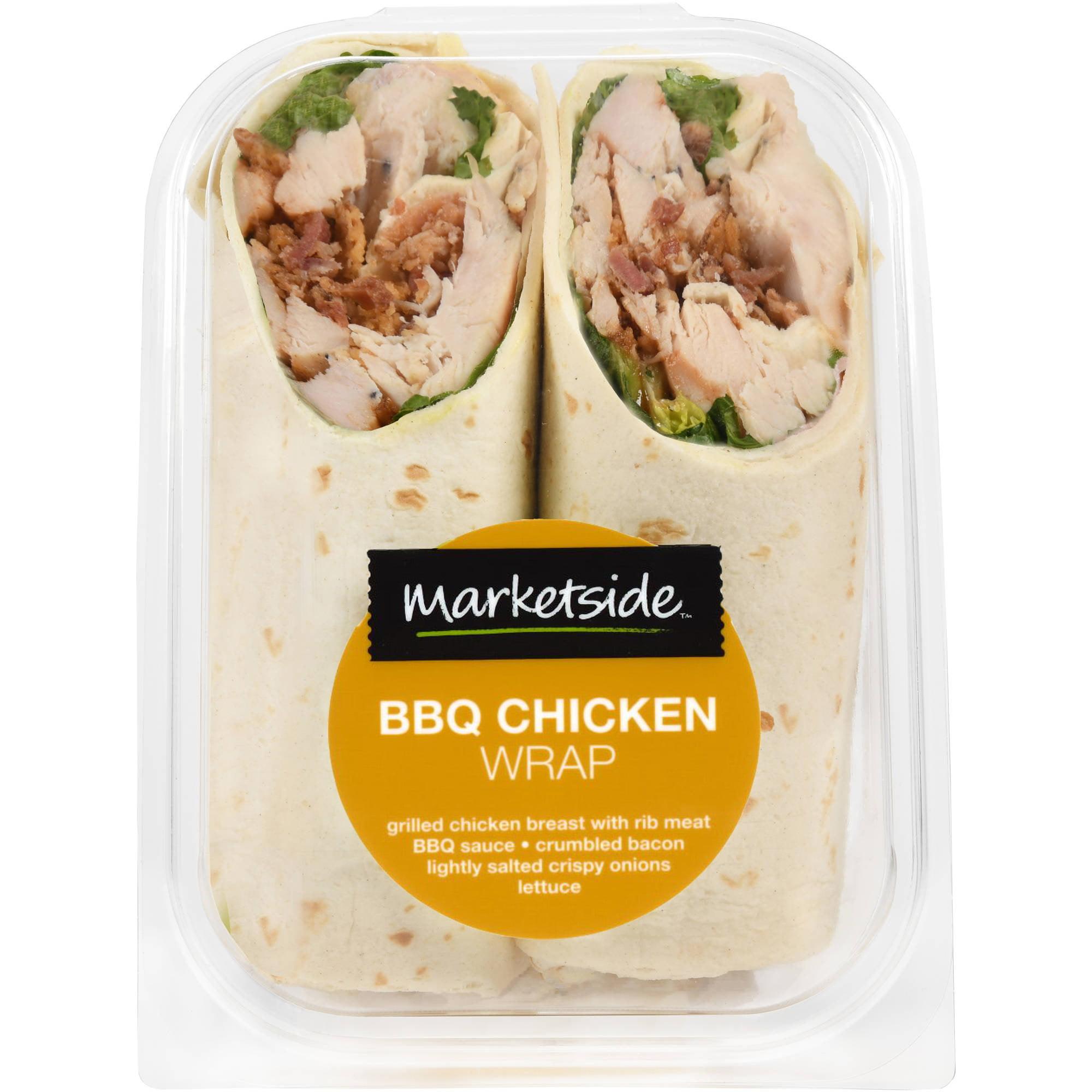 Marketside BBQ Chicken Wrap - Walmart.com