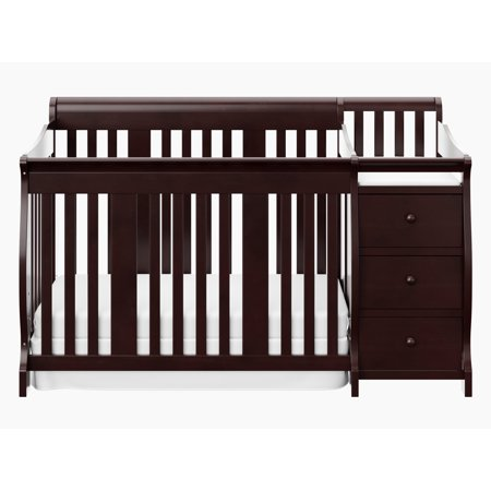 Storkcraft Portofino 4 in 1 Convertible Crib and Changer Combo -